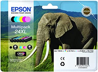 Originele Epson 24XL inktcartridge, multipack 6-kleurig
