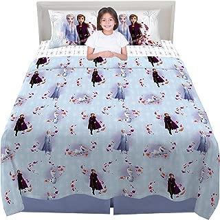 Franco Kids Bedding Super Soft Microfiber Sheet Set, 4 Piece Full Size, Disney Frozen 2