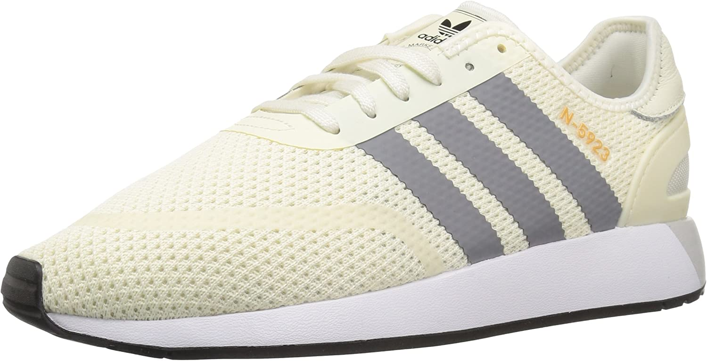 Adidas Originals Men's N-5923 Sneaker Running shoes, Off White, Grey Three Fabric, 5 M US