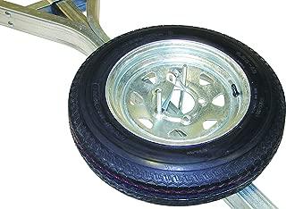 Malone Galvanized Trailer Spare Tire with Locking Attachment for MicroSport Trailer