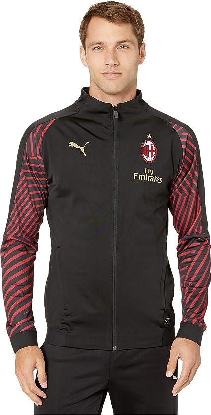 PUMA AC Milan Stadium Jacket w/Sponsor