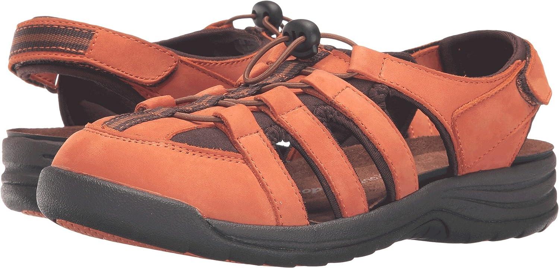 Drew Element Women's High order Sandal 9.5 M B Orange-Nubuck 40% OFF Cheap Sale US