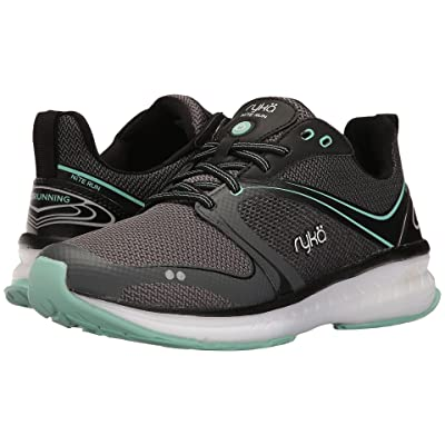Ryka Nite Run (Black/Iron Grey/Yucca Mint) Women