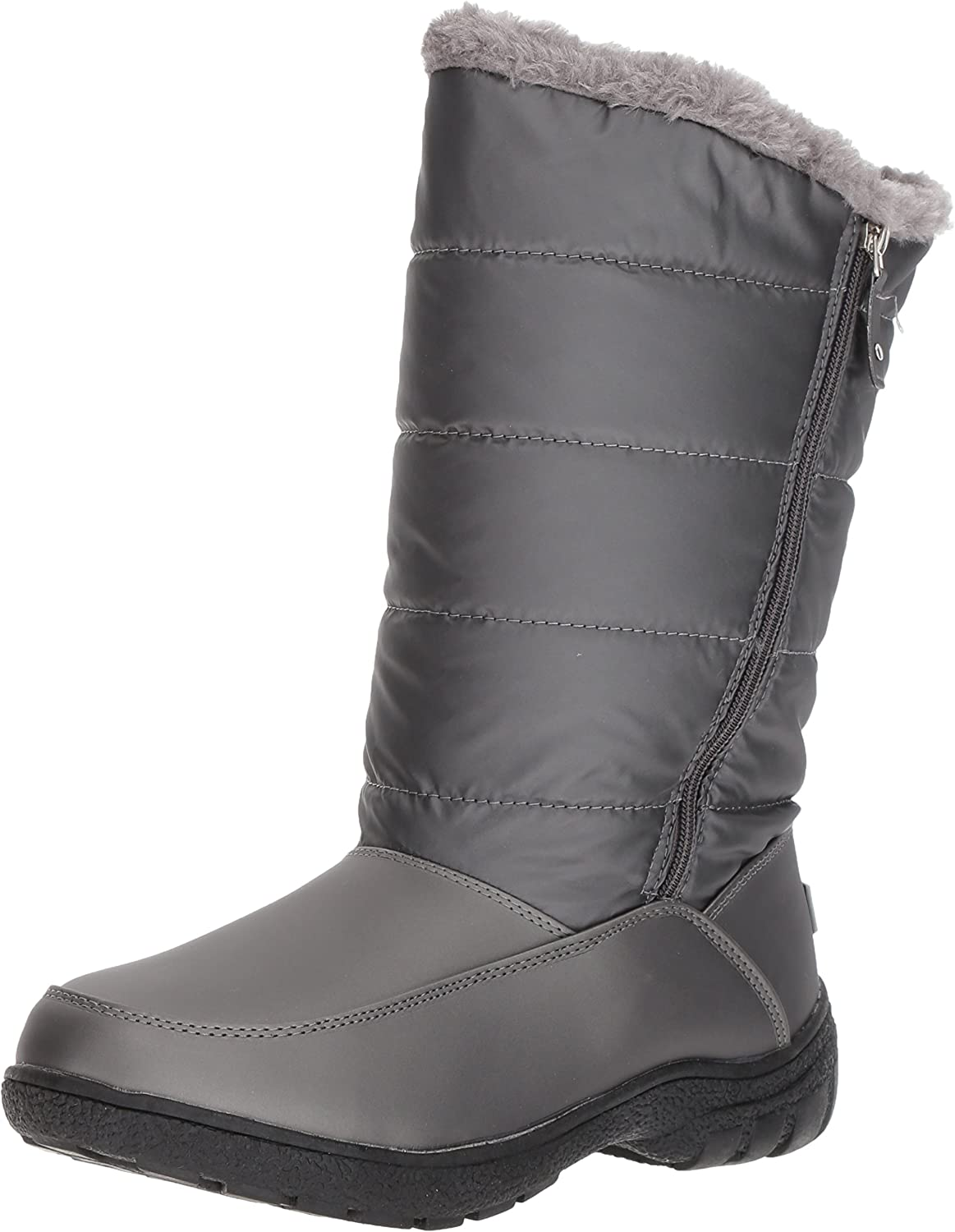 Sugar Womens Lucille Tall Shaft Faux Fur Waterproof Snow Winter Weather Snow Boot