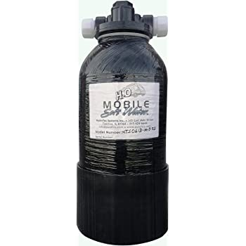 Mobile-Soft-Water Portable Softener 3.2 Kgr Shorty for Rv and Other Tight Spaces and Day Trips