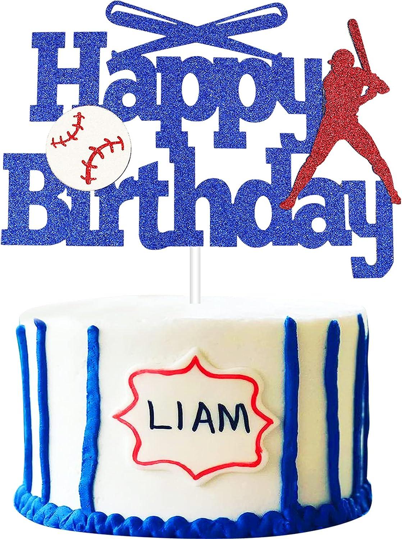 JUUFLA Baseball Cake Topper Beauty products Birthday Decora Happy Fresno Mall