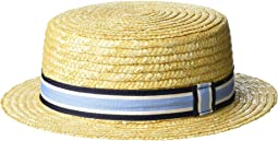 Stripe Boater Hat (Infant/Toddler/Little Kids/Big Kids)
