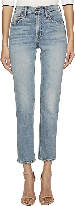 Vince - High-Rise Straight Leg Jeans in O'Keefe