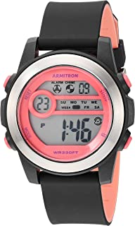 Armitron Sport Women's Digital Chronograph Resin Strap Watch