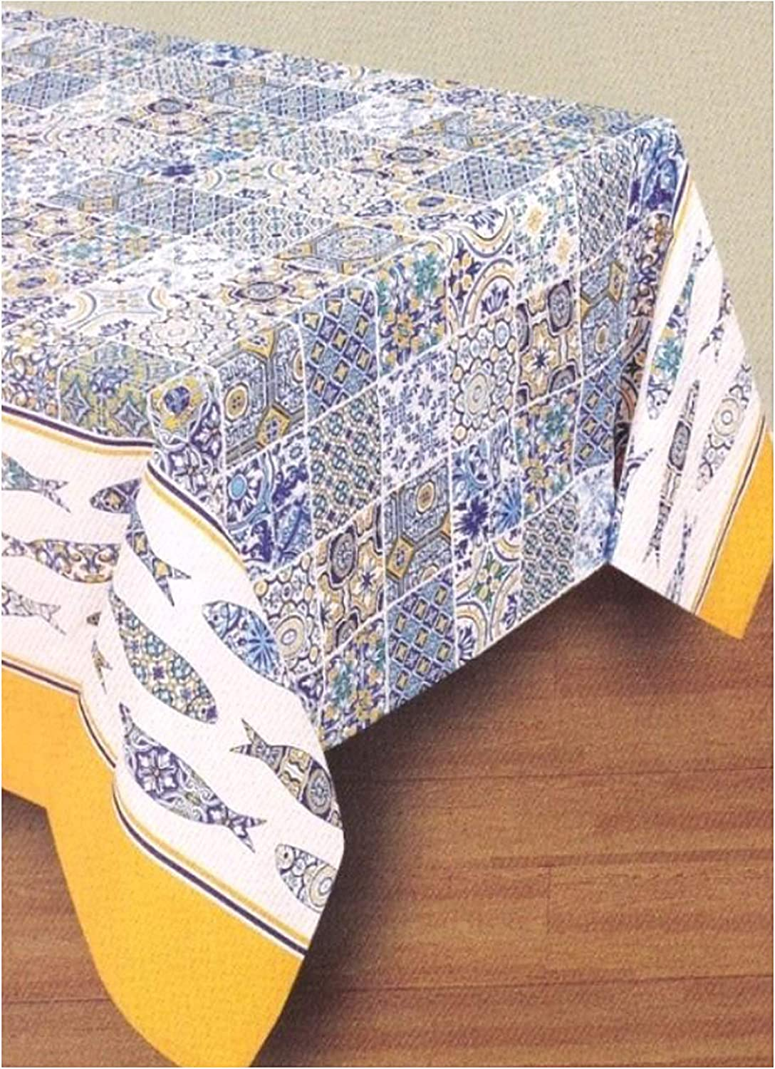 Limol Regional Portuguese Excellent Tablecloth with Department store x 13 Pattern 62