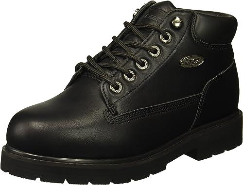 Lugz Men's Drifter Mid Steel Toe Fashion Stiefel, schwarz, 6.5 D US