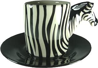 Zebra 3-d Animals Designs Espresso Cups 4 Oz (4ozZebra)