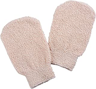 Bath Shower Gloves Mitt for Exfoliating and Body Scrubber (2 packs)