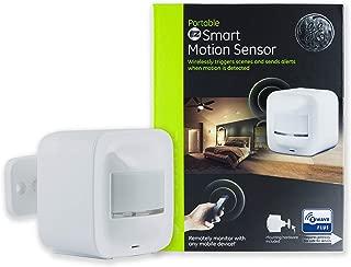 GE Z-Wave Plus Wireless Portable Indoor 180 Degree Range Smart Motion Sensor Light (Renewed)