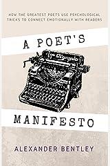 A Poet's Manifesto Kindle Edition