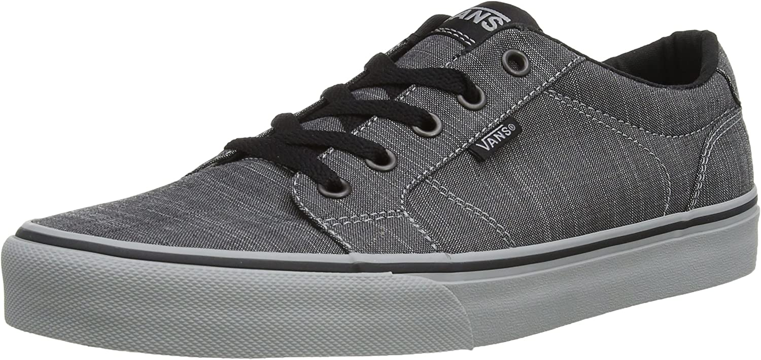 Vans Men's Bishop Waxed Denim Ankle-High Fabric Fashion Sneaker