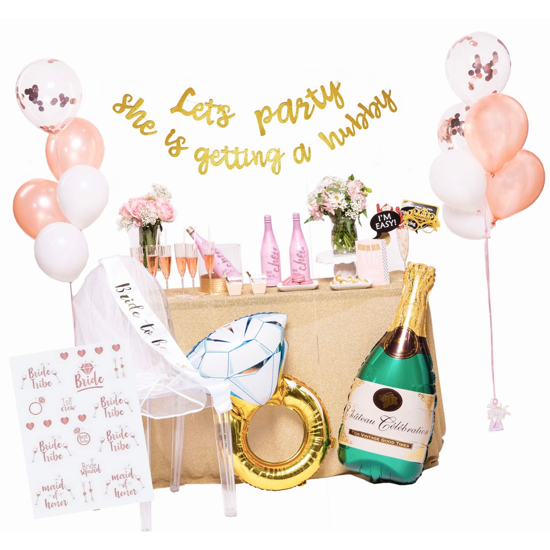 Happium 27 X 1 Bachelorette Party Willy Foil Balloon Bride To Be Hen Party
