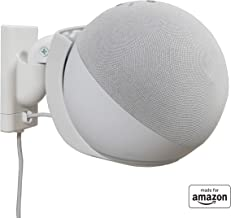 All New, Made For Amazon Wall Mount, White, Echo (4th generation)