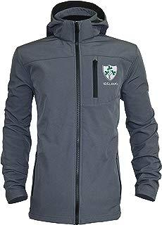 Rugby Ireland Shamrock Crest Hooded Shell Jacket