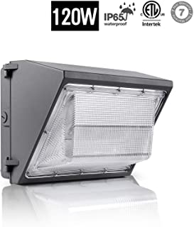 120W LED Wall Pack Light Daylight 5000K, 14400Lm IP65 Commercial Outdoor Lighting Security Wall Pack LED Lighting, Industrial, Walkways, Parking lot 120-277V, ETL Listed