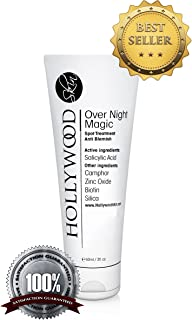 Over Night Magic - With Salicylic acid and sulfur. Spot treatment that's 4x STRONGER than the regular acne treatments. 60 ml. (1 Bottle)