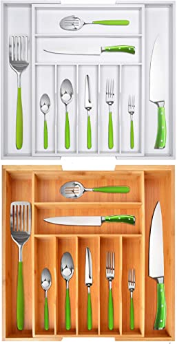 lowest Silverware Drawer Organizers lowest White and Natural wholesale Colors online