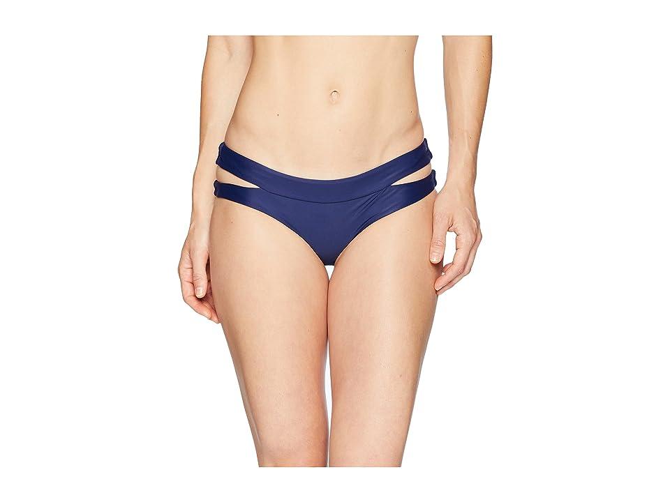 Speedo Trinity Hipster Bikini Bottom (Speedo Navy) Women