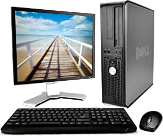 "Dell Optiplex Desktop - 2.8 Pentium D Dual Core - 2GB Memory - 80GB HDD - 17"" LCD (Brands may vary) - Windows 10 Home - Ne..."