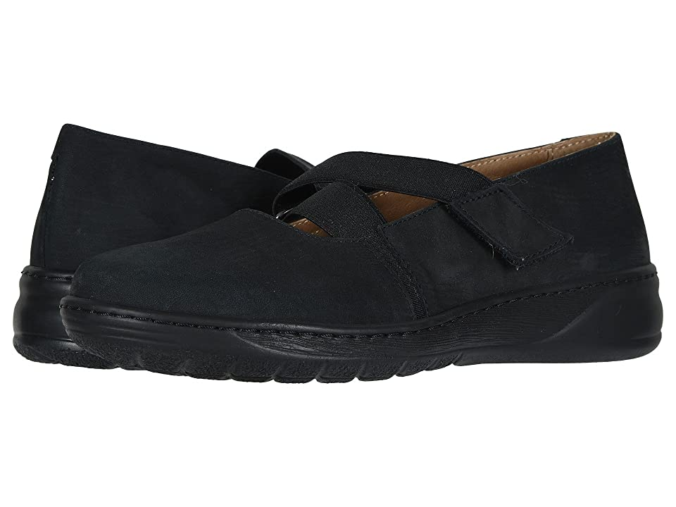 David Tate Julia (Black Nubuck) Women