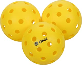 Onix Pure 2 Outdoor Pickleball Balls Specifically Designed and Optimized for Pickleball