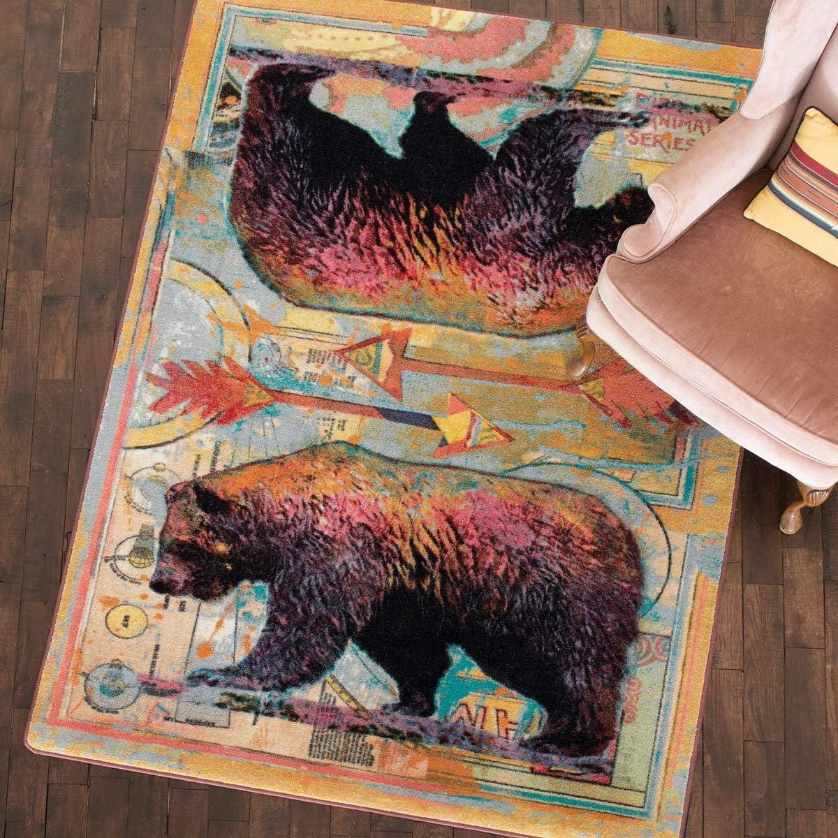 BLACK FOREST DECOR Ruiz Walking Bear 11 - Rug x 8 5% Super beauty product restock quality top! OFF