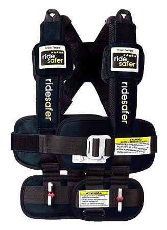 Safe Traffic System Ride Safer Travel Vest Gen 5, Small, Black: image