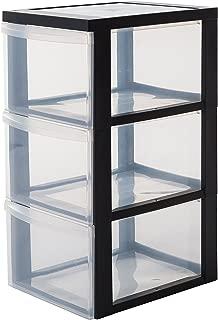 Iris Ohyama, armario de 3 cajones sobre ruedas - Design