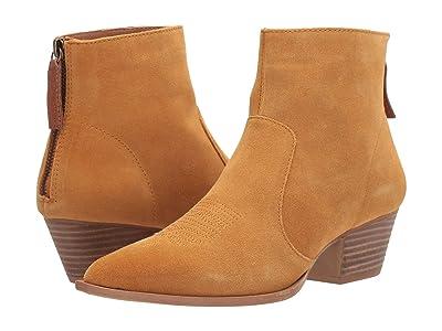 Dingo Klanton (Mustard Suede) Cowboy Boots