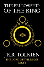 Cover image of The Fellowship of the Ring by J. R. R. Tolkien