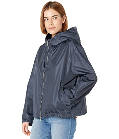 Save the Duck Hope MEGA Water Repellant Zip-Up Hooded Jacket (Ombre Blue) Women