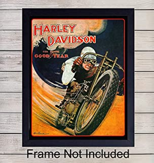 Best vintage harley prints Reviews