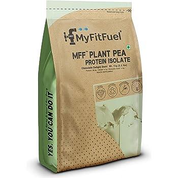 MyFitFuel Plant Pea Protein Chocolate Delight Swirl, 1 Kg (2.2 lbs)