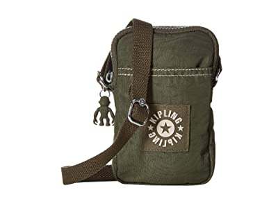 Kipling Daly Crossbody (Jaded Geen) Cross Body Handbags