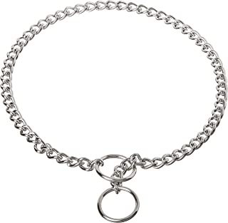 Coastal Pet Products DCP552018 18-Inch Titan Fine Chain Dog Training Choke/Collar with 2mm Link, Chrome