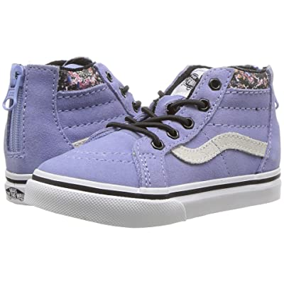 Vans Kids Sk8-Hi Zip (Infant/Toddler) ((MTE) Lavender Lustre) Girls Shoes