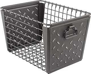 Spectrum Diversified Macklin Medium Basket, Industrial Gray