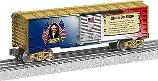 Lionel Presidential Series Martin Van Buren, Electric O Gauge Model Train Cars, Boxcar