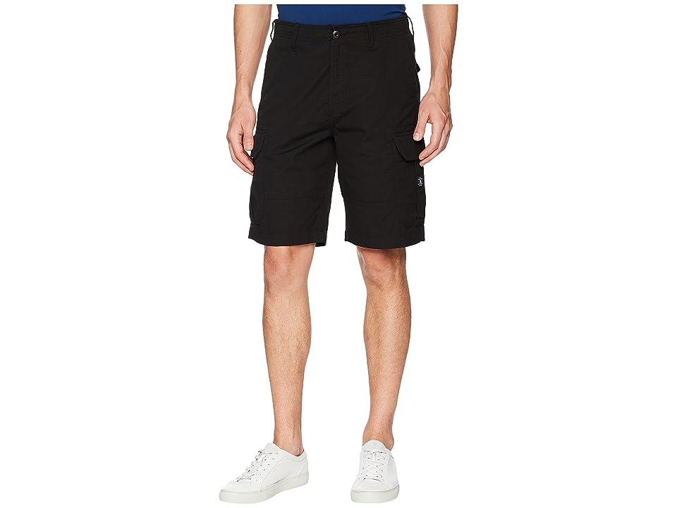 DC Ripstop Cargo 21 Shorts (Black) Men