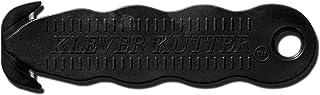 "Klever Innovations KCJ-1K Safety Cutter, Advanced Plastic Polymers, 4-5/8"", Black (Pack of 10)"