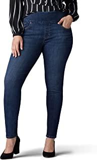 Women's Plus Size Sculpting Slim Fit Skinny Leg Pull on Jean