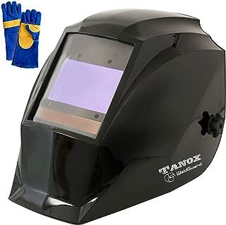 Digital Control Auto Darkening Solar Powered Welding Helmet ADF-210S, Solar Shade Lens, Tig Mig MMA, Adjustable Range 4/9-13 Bonus 16