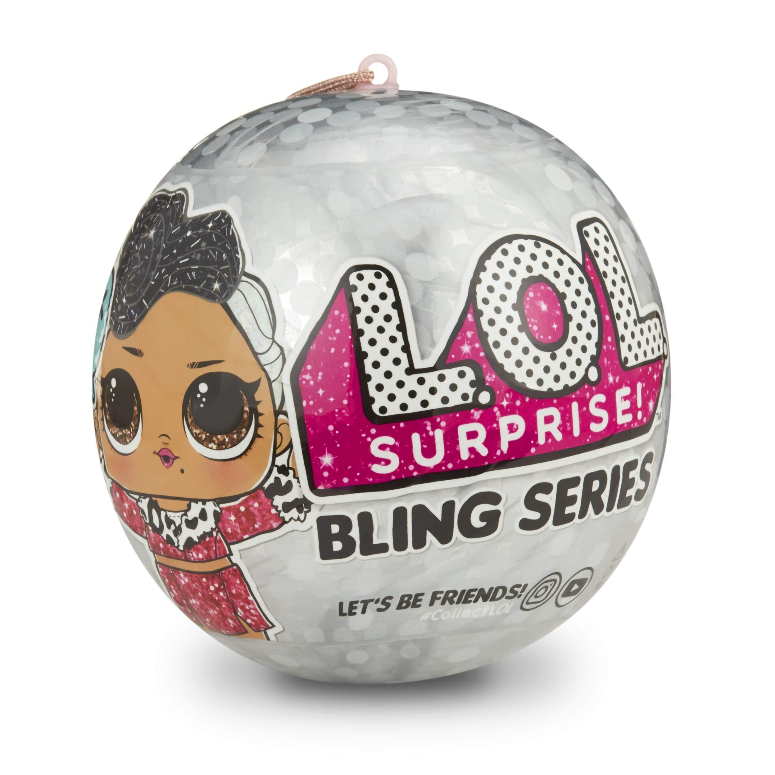 L.O.L 서프라이즈 블링 시리즈 인형 L.O.L. Surprise! Bling Series with 7 Surprises