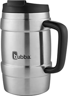 bubba Keg Vacuum-Insulated Stainless Steel Travel Mug, 34 oz., Black