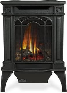 Napoleon GVFS20P Fireplace, Arlington Propane Stove Vent Free 18,000 BTU - Painted Black